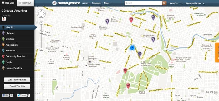 Córdoba  Argentina   Startup Genome